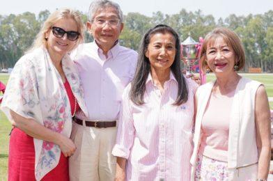 การแข่งชิงถ้วย จัดเพื่อถวายให้แก่พระราชินีของไทยเนื่องในวันมงคล