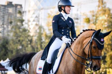 กำลังใจกัน นักขี่ม้าเร่งให้กำลังใจกันในวันสุขภาพจิตโลก